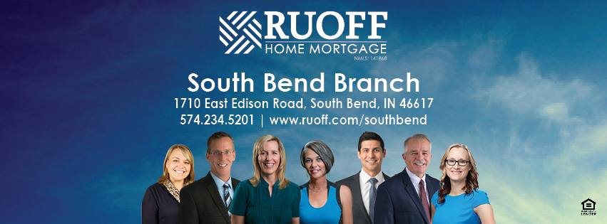 Ruoff Home Mortgage's South Bend, Indiana Sales Team