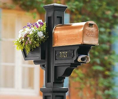 Copper-mail-box