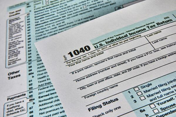Tax Returns - GettyImages-933123632